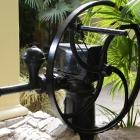 Kolo vodnjaka v samostanskem atriju