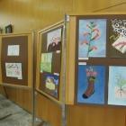 Likovna dela dijakov Šolskega centra Nova Gorica