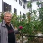 Edi Prošt, strokovni vodja nasada burbonk na Kostanjevici