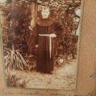 P. Aleksander Vavpotič, žrtev 1. sv. vojne, po katerem je poimenovan samostanski atrij (edina znana fotografija)