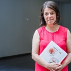 Katja Kogej, predsednica Goriškega društva ljubiteljev vrtnic